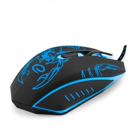 Ενσύρματο GAMING Φωτιζόμενο Ποντίκι ESPERANZA SCORPIO MX203 6D