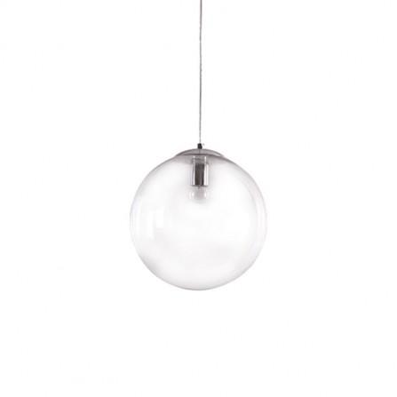 Κρεμαστό Φωτιστικό Μπάλα Διάφανο Φ30