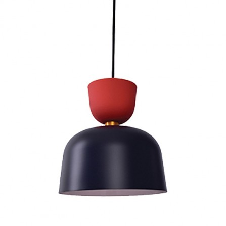 Κρεμαστό μονόφωτο φωτιστικό αλουμινίου BETH