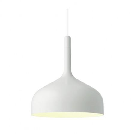 Κρεμαστό φωτιστικό μεταλλικό λευκό EOS