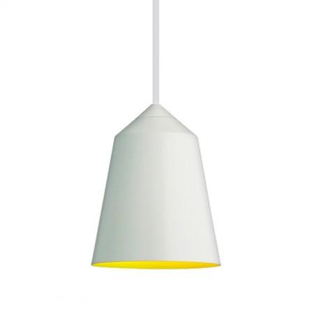 Κρεμαστό φωτιστικό μεταλλικό mat λευκό BLOUM