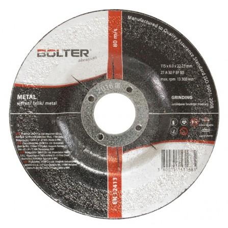 Δίσκος κοπής μετάλλου 115mm x 6.0mm 1τεμ