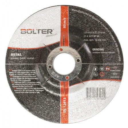 Δίσκος κοπής μετάλλου 125mm x 6.0mm 1τεμ