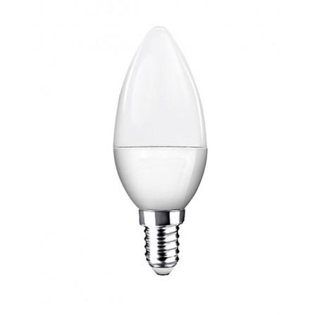 Λάμπα κεράκι LED E14 7W 3000K (ΘΕΡΜΟ) C35 240o 550Lm