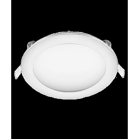 Χωνευτό Φωτιστικό LED στρογγυλό 18W 3000K (ΘΕΡΜΟ) Φ225mm