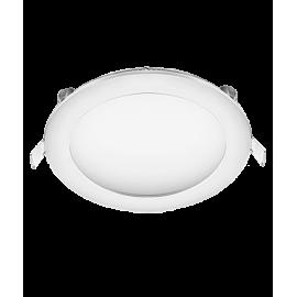 Χωνευτό Φωτιστικό οροφης LED στρογγυλό 18W 3000K (ΘΕΡΜΟ) 1360lm Φ225mm