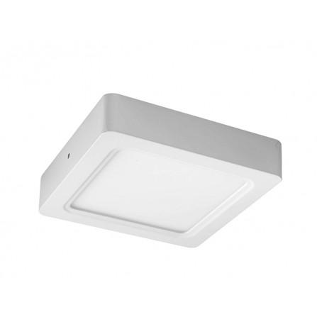 LED panel φωτιστικό εξωτερικής τοποθέτησης τετράγωνο 18W 6500K (ΨΥΧΡΟ) 1500lm 190x190x25mm