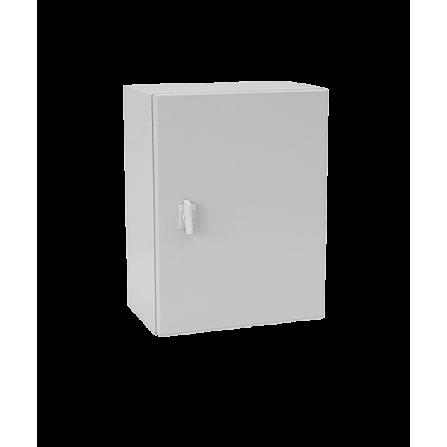 Μεταλλικό κιβώτιο πίνακας 40x40x20 στεγανό με πλάκα στήριξης και πόρτα