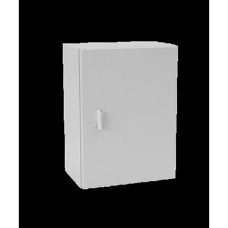 Μεταλλικό κιβώτιο πίνακας 50x40x25 στεγανό με πλάκα στήριξης και πόρτα