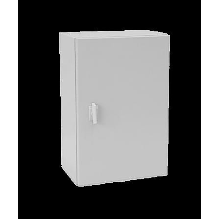 Μεταλλικό κιβώτιο πίνακας 60x60x20 στεγανό με πλάκα στήριξης και πόρτα