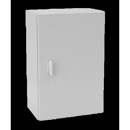 Μεταλλικό κιβώτιο πίνακας 80x60x20 στεγανό με πλάκα στήριξης και πόρτα