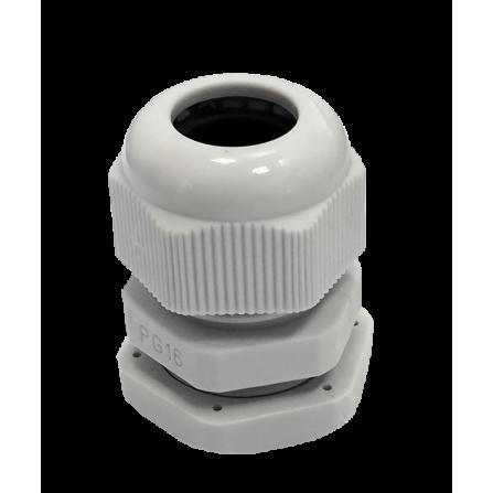 Πλαστικός στυπιοθλίπτης PG16 διατομή καλωδίου 14.5mm