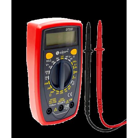 Ψηφιακό Πολύμετρο με βομβιτή κόκκινο