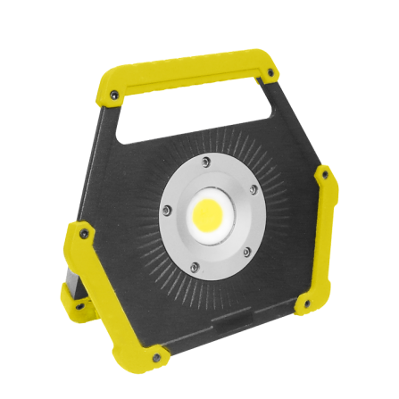 Φορητός Προβολέας LED 10W SUPER SLIM 6000K (ΨΥΧΡΟΣ) 800Lm