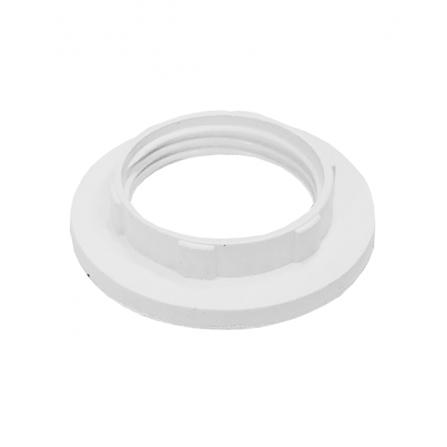 Ροδέλα λευκή για ντουϊ βακελίτου Ε14