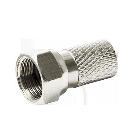 Φις μεταλλικό δορυφορικής κεραίας τύπου F O RING 7mm