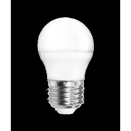 Λάμπα LED σφαιρική E27 5W 6400K (ΨΥΧΡΟ) G45 200o 410Lm