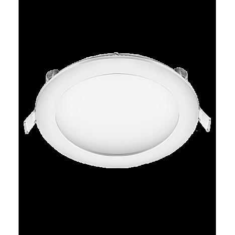 Χωνευτό Φωτιστικό LED στρογγυλό 24W 4200K (ΨΥΧΡΟ) 1752lm Φ300mm