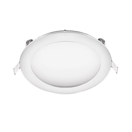 Χωνευτό Φωτιστικό οροφης LED στρογγυλό 24W 4200K (ΦΩΣ ΗΜΕΡΑΣ) 1752lm Φ300mm