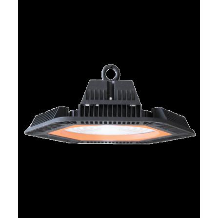 Καμπάνα LED Στεγανή PHILIPS CHIP + MEANWELL DRIVER 100W 6000K (ΨΥΧΡΟ) 16000Lm IP65 100V-240V