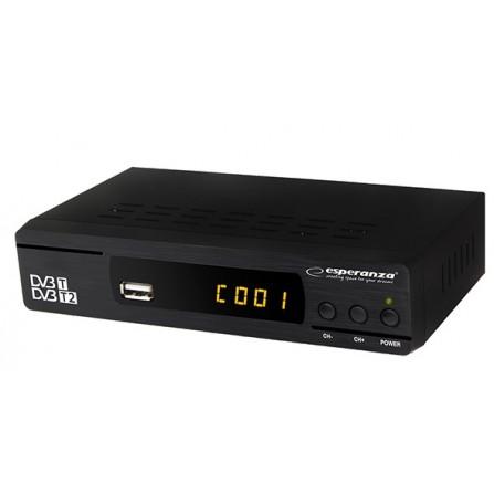 Ψηφιακός δέκτης DVB-T/T2 ESPERANZA EV104