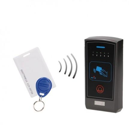 Σύστημα ελέγχου πρόσβασης με αναγνώστη καρτών RFID & proximity tags