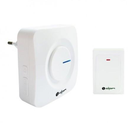 Ασύρματο κουδούνι ρεύματος με δυνατότητα επέκτασης με 36 μελωδίες IP44 90dB και εμβέλεια 200 μέτρων
