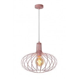 Mεταλλικό φωτιστικό ροζ LUCIDE MERLINA Ε27