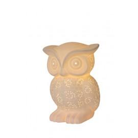 Επιτραπέζιο φωτιστικό LUCIDE OWL 13505/01/31 Ε14Χ1