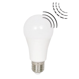 Λαμπτήρας LED Ε27 με φωτοκύτταρο & αισθητήρα κίνησης 10W 4000K (ΦΩΣ ΗΜΕΡΑΣ) 220o 906Lm