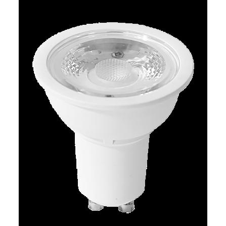 Λαμπτήρας LED GU10 6,5W 4000K (ΘΕΡΜΟ) 38o DIMMABLE 500Lumens