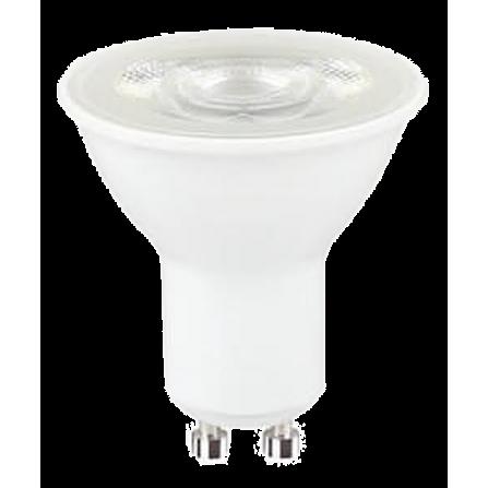 Λαμπτήρας LED GU10 5,5W 3000K (ΘΕΡΜΟ) DIMMABLE 36o 380Lumens
