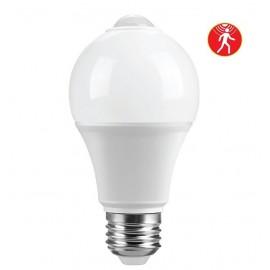 Λαμπτήρας LED Ε27 με ανιχνευτή κίνησης 270 μοιρών 7W 4000K (ΦΩΣ ΗΜΕΡΑΣ) 120o 600Lumens VIVA