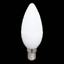 Λάμπα κεράκι LED E14 4W 6000K (ΨΥΧΡΟ) C35 160o 350Lm