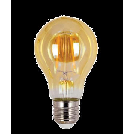 Λάμπα LED Amber Filament E27 6W 2700K (ΘΕΡΜΟ) G95 360o 590Lm VIVA