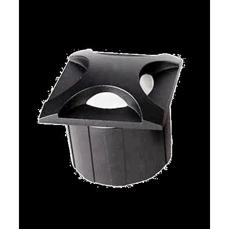 Χωνευτό Φωτιστικό Απλίκα LED για τοίχο ή σκάλα 3W 4000K (ΦΩΣ ΗΜΕΡΑΣ) 300Lm IP65 μαύρο RD09