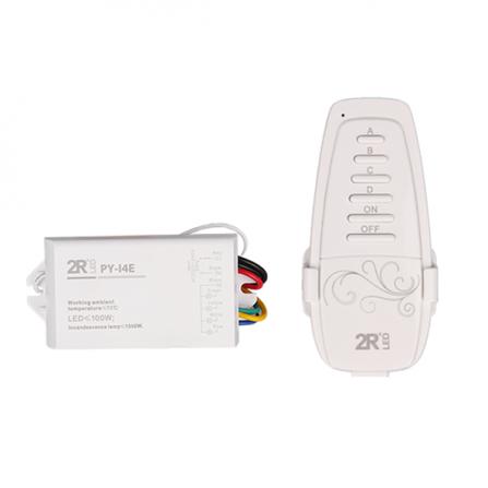 Σετ controller & ασύρματο χειριστήριο ελέγχου φωτισμού 4 καναλιών max.1000w