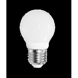 Λάμπα LED σφαιρική E27 3W 6500K (ΘΕΡΜΟ) G45 300o 260Lm