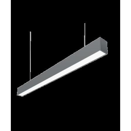 Κρεμαστό φωτιστικό γραμμικό LED 36W 4000K (ΦΩΣ ΗΜΕΡΑΣ) 120cm 3240Lm SINGLE II