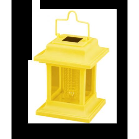Ηλιακό Φωτιστικό Κήπου Φαναράκι 0,06W 7500K (ΨΥΧΡΟ) Κίτρινο CUT