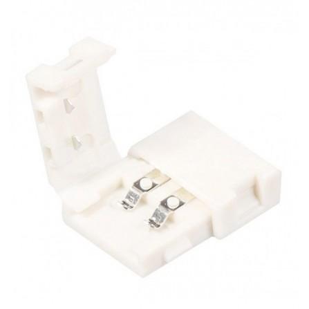 Απλός σύνδεσμος για ταινία LED 12V, chip 3528 ή 2835 8mm