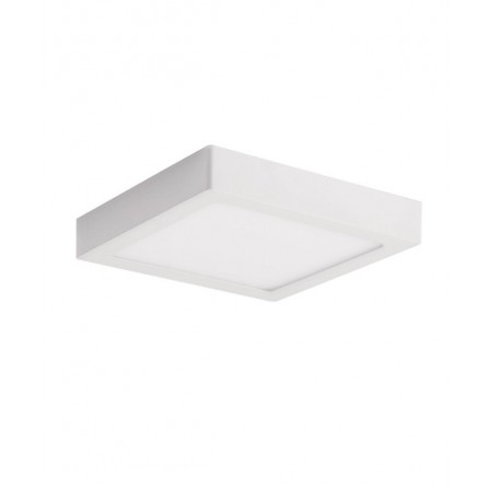 LED panel οροφης φωτιστικό εξωτερικής τοποθέτησης τετράγωνο 24W 4000K (ΦΩΣ ΗΜΕΡΑΣ) 2280lm LINDA VITO