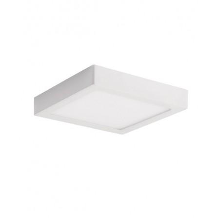 LED panel οροφης φωτιστικό εξωτερικής τοποθέτησης τετράγωνο 24W 6000K (ΦΩΣ ΗΜΕΡΑΣ) 2400lm LINDA VITO