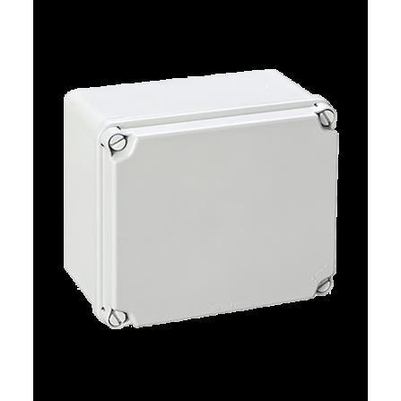 Κουτί διακλάδωσης εξωτερικό 175x151x95mm στεγανό IP54 με πλαστικές βίδες χωρίς τάπες