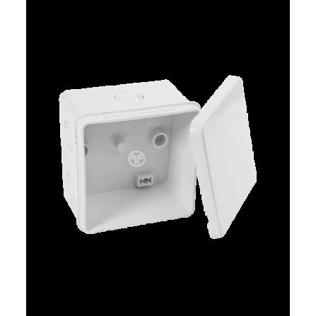 Κουτί διακλάδωσης εξωτερικό 80x80x50mm στεγανό IP65 χωρίς τάπες