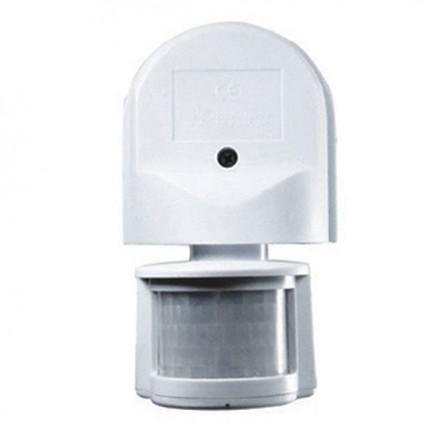 Επίτοιχος αισθητήρας κίνησης & φωτός λευκός MS02 VITO