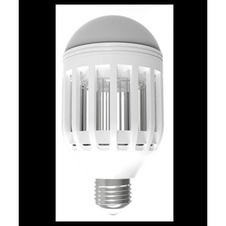 Λαμπτήρας LED E27 & Εντομοκτόνος 6W ΨΥΧΡΟ (6500Κ) Φ78mm 550Lm