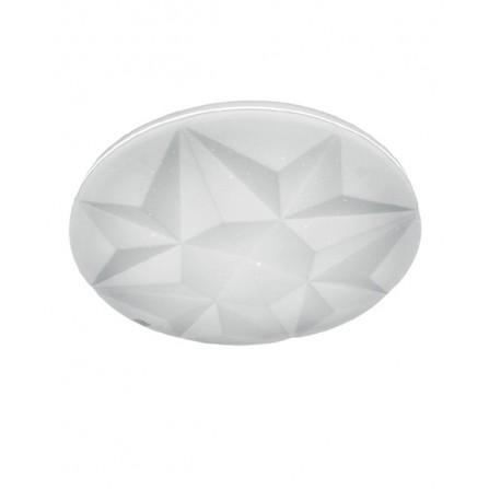 Πλαφονιέρα LED Οροφής 36W 4000Κ (ΦΩΣ ΗΜΕΡΑΣ)  ΣΤΡΟΓΓΥΛH Φ350mm CIRCON