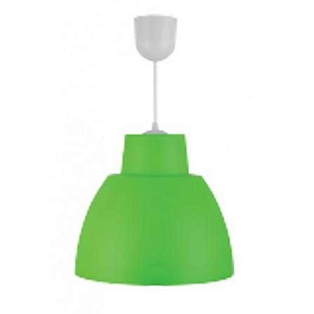 Κρεμαστο Φωτιστικό Πλαστικό Μονόφωτο Ε27 πράσινο BITEZ