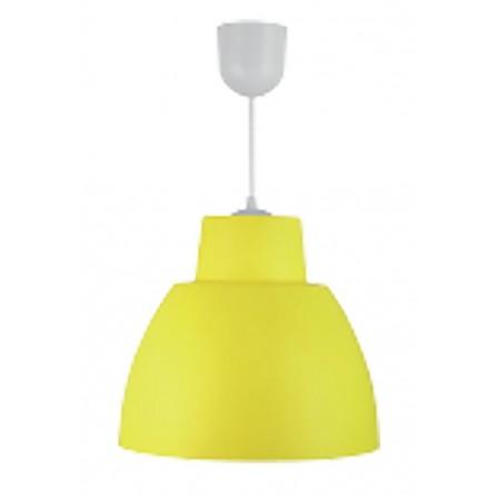 Κρεμαστο Φωτιστικό Πλαστικό Μονόφωτο Ε27 κίτρινο BITEZ